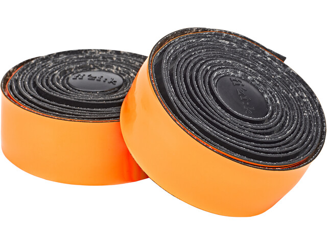 Fizik Vento Microtex Tacky Rubans de cintre 2mm, black/orange
